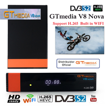 gt media v8 nova with cccam cline for 1 year spain cccam españa freesat v8 super tv box dvb-s2 bluetooth satellite receiver wifi цена