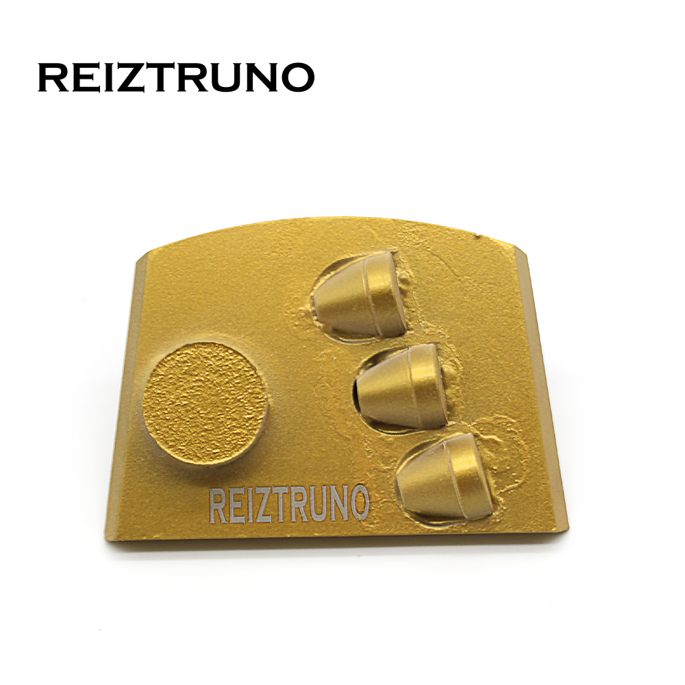 REIZTRUNO One Metal Segment And  Pcd Diamond Floor Polishing Pads Grinding Discs For Concrete Floor Epoxy Removal,Lavina Lock