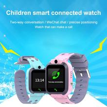 Q16 Kids Smart Watch Waterproof LBS SOS Location Support SIM Card For Children IP67 Deep Waterproof Kids LBS Smart Phone Watch цена