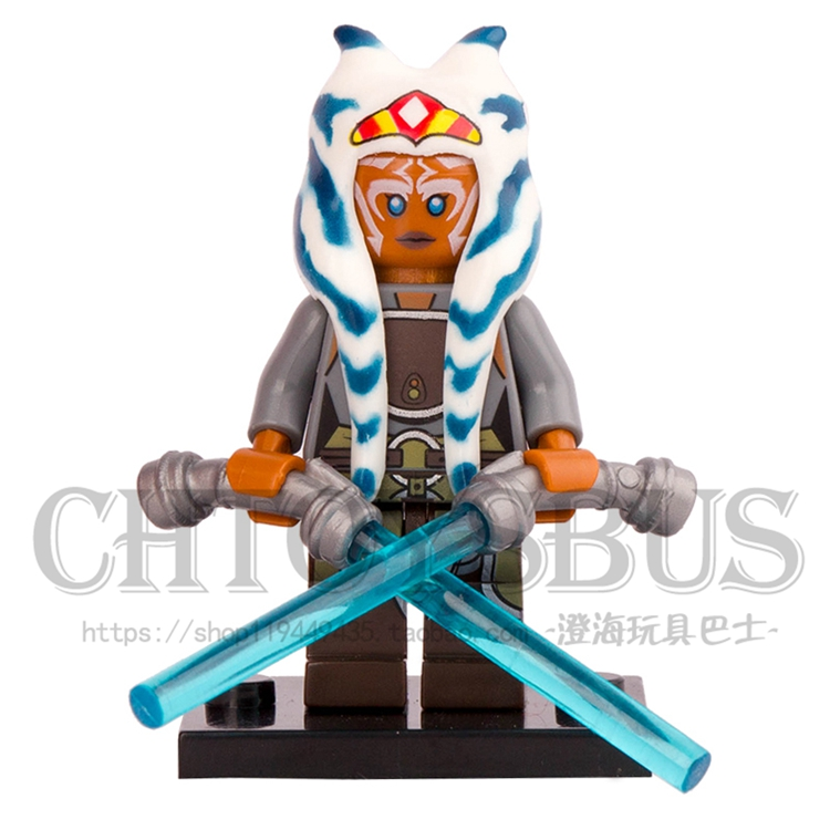 Single Sale STAR WAR Rogue One Rebel Combat Frigate Ahsoka Tano Minifig Assemble DIY Building Blocks Kids Learning Gift Toys