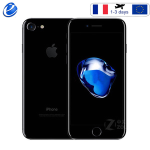 Unlocked Apple iPhone 7 Fingerprint 4G LTE global 32/128GB ROM IOS mobile phone 12.0MP GPS Quad-Core Cellphone 1960mA(China)