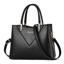 цена на New Brand Handbags for Women PU Leather Tote Fashion Bags Designer Ladies Casual Large Shoulder Bag Female Bags Bolsa Feminina