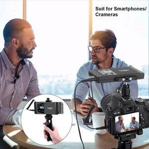 Image 5 - Micro Smartphone sans fil Comica CVM WS60 Lavalier micro cravate pour iPhone/samsung Huawei Android téléphone enregistrement vidéo