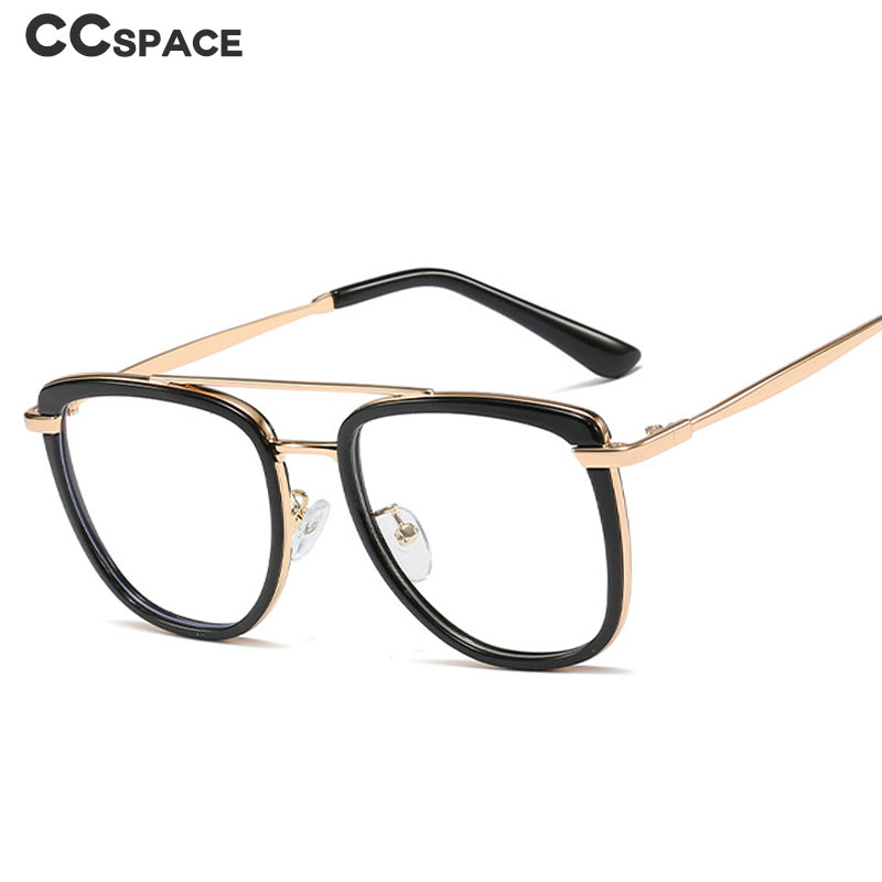 48067 Plastic Titanium Oversized Glasses Frames Square Men Women Optical Fashion Computer Glasses