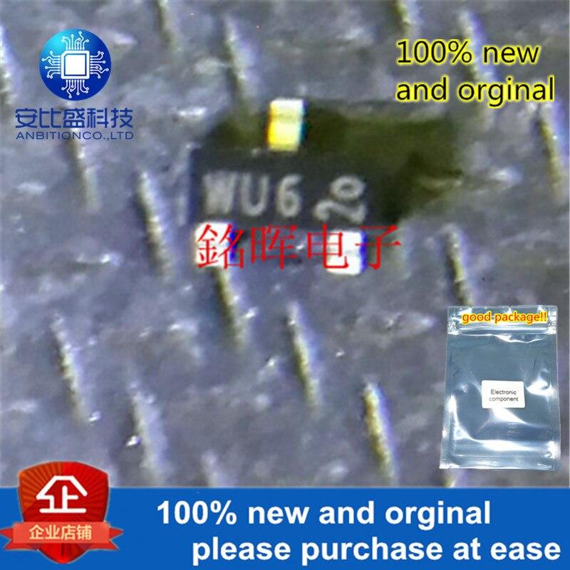 10pcs 100% New And Orginal PBSS5160T Silk-screen WU6 SOT23 In Stock