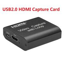 Box Video-Recorder Hdmi-Capture-Card Live-Streaming Broadcast-Support Local-Loop Donglefor-Game