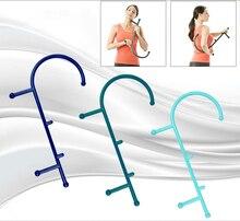Ferramenta de massagem de pressão profunda corpo massageador ponto gatilho auto massagem vara alívio muscular do corpo volta massageador thera cana
