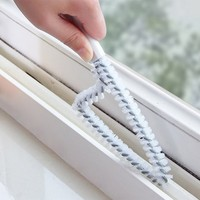 Multipurpose Kitchen bathroom Window / Wash station / Flume / Crevice Cleaning brush Practical Clean tool