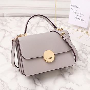 New Style Leather Messenger Bag Women's Small Fashion Shoulder Bag