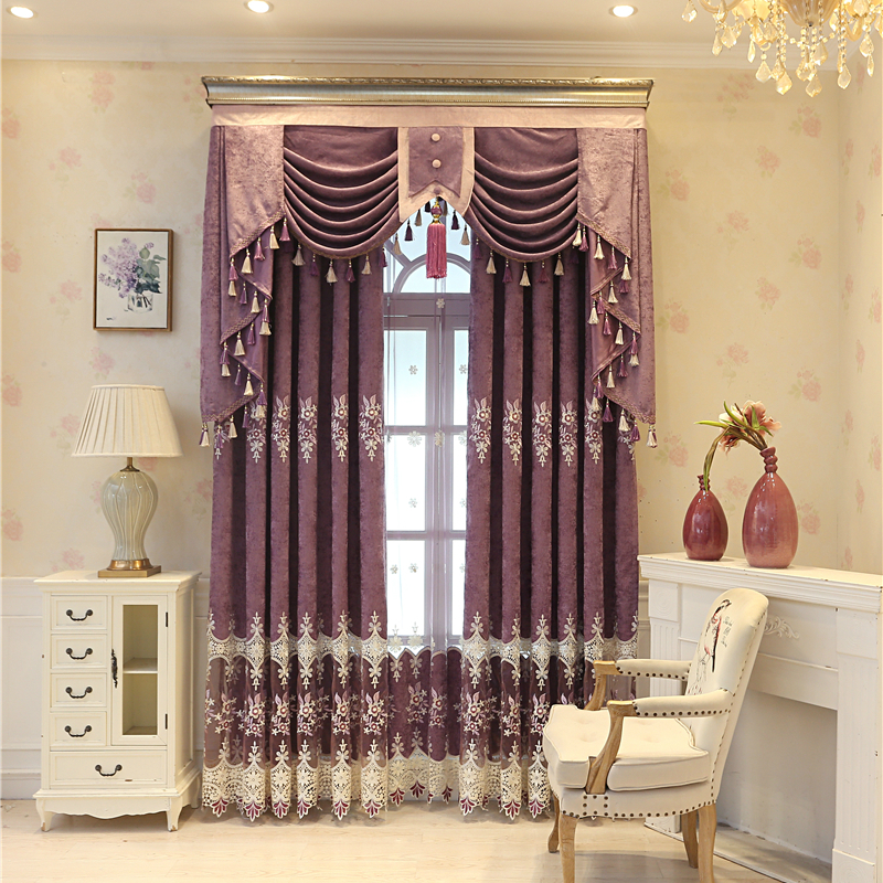 check MRP of purple curtains living room