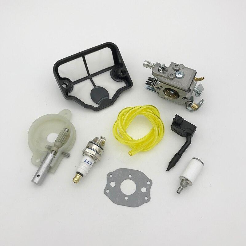 Carburetor Ignition Coil Spark Plug Hose for Husqvarna 36 41 136 137 141 142