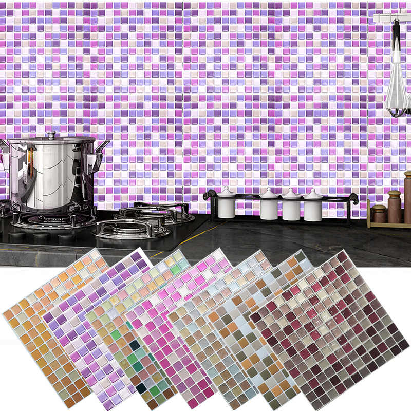 Mosaic Wall Tile L And Stick Self