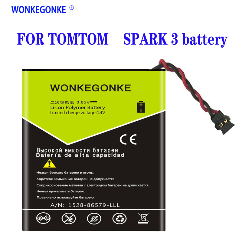 For TomTom Spark 3 Watch New Li-Polymer Polymer Rechargeable Accumulator Pack Replacement 3.7V  PP332727 Battery