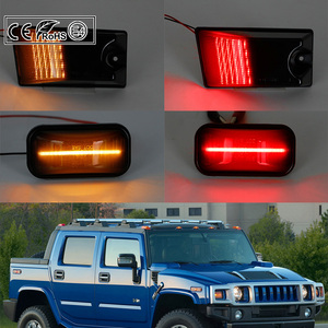 Image 5 - 10pc Smoked LED Cab Roof Light Kit for Hummer H2 2003 2009 H2 SUT 2005 2009