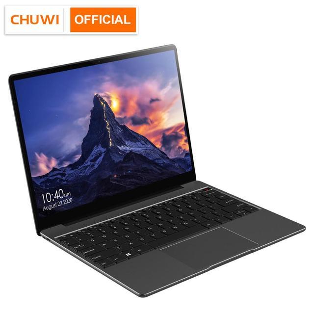 "CHUWI GemiBook 13"" 2K IPS Screen LPDDR4X 12GB 256GB SSD Intel Celeron Quad Core Windows 10 Laptop with Backlit Keyboard"