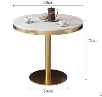 Скандинавский стол и стул комбинированная фара роскошный мраморный стол гостиничный приём продаж офисный стол Повседневный журнальный столик - Цвет: 3