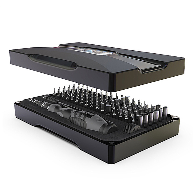 Jeu de tournevis 115/106/25 en 1 tournevis de précision tournevis magnétique Torx Bits multioutils téléphone réparation outils à main Kit