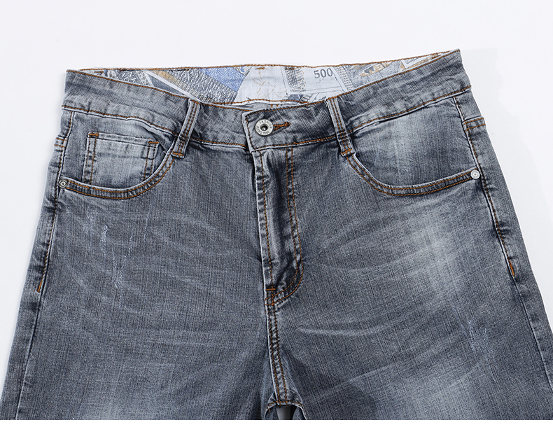 KSTUN New Arrivals Mens Jeans Brand Slim Straight Regular Fit  Stretch 2020 Summer Denim Pants Jeans Men Vintage Cowboys Top Quality 13