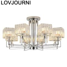 Lustre Pendente Industrial Decor Pendelleuchte Nordic Loft Suspendu Crystal Light Suspension Luminaire Hanging Lamp Hanglamp