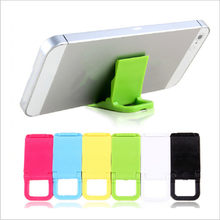5Pcs Portable Mini Phone Holder Plastic Foldable Stand Holder for Phone/ PC Universal Cell Desktop Stand Support for iphone(China)