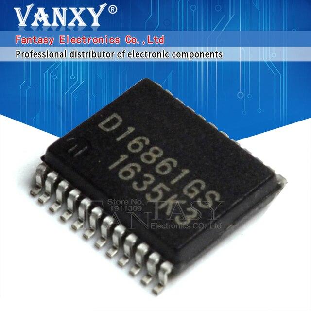 10PCS D16861GS SSOP24 D16861 SSOP 16861GS SMD SOP SMD
