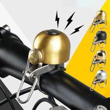 Классический велосипедный звонок из нержавеющей стали, велосипедный рог, велосипедный руль, колокольчик, крепкий звук, велосипедный рог, Аксессуары для велосипеда