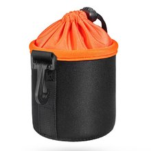 Новинка, Черный Защитный Мягкий неопреновый чехол для объектива DSLR камеры, защитный чехол, мягкий короткий чехол, сумки S, M, L, XL