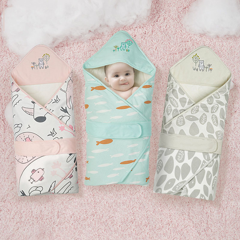 Newborn Blanket Baby Wrap Envelope  Swaddle Infant Sleep Bags Sleeping Sacks Children Quilt AXP033