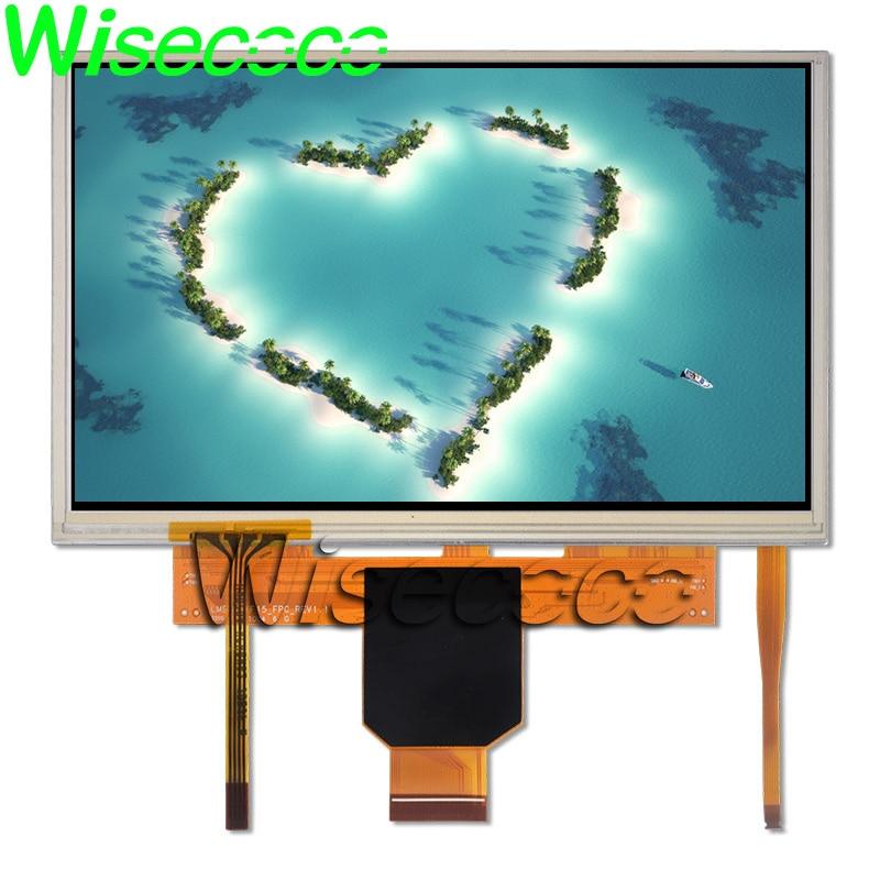 Wisecoco – écran tactile LCD 7 pouces, 800x480 TFT, LMS700KF23