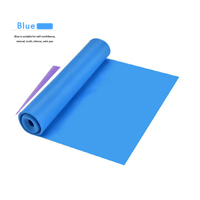 2020 Yoga Tension Band Fitness Equipment Training Resistance Bands Rubber Yoga Fitness Tension  Sport Training Equipment 2