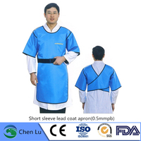 Direct selling x ray gamma ray protective clothing nuclear radiation protection high quality 0.5mmpb lead coat apron