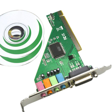 Audio-Card Computer Internal-Chipset Desktop Stereo-Sound Pci-Port Cd-Components HIFI