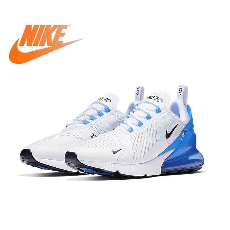 Nike Air Max 270 мужские кроссовки для бега Air Cushion дышащие Нескользящие амортизирующие уличные спортивные кроссовки 2019 новые AH8050-020