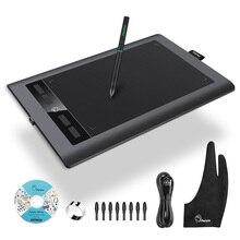 """Parblo A610S Art Digitale Grafische Tablet Tekenen Schilderen Board 10X6 """"Actieve Gebied Batterij Gratis Pen Met 8192 Niveaus Druk"""