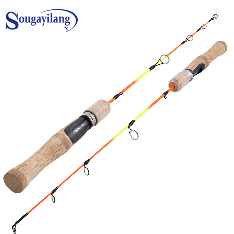 Sougayilang 63cm Ice Fishing Rod  Cross border Winter Ultralight Weight Sea/River Fishing Rod  Fishing Gear Fishing Rod|Fishing Rods| |  - title=