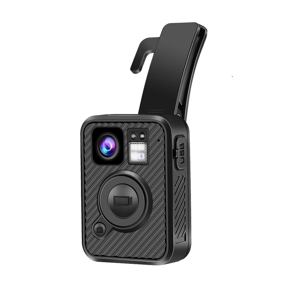 BOBLOV Wifi Police Camera 64GB Body Kamera HD 1440P Worn Cameras For Law Enforcement 10H Recording GPS Night Vision DVR Recorder