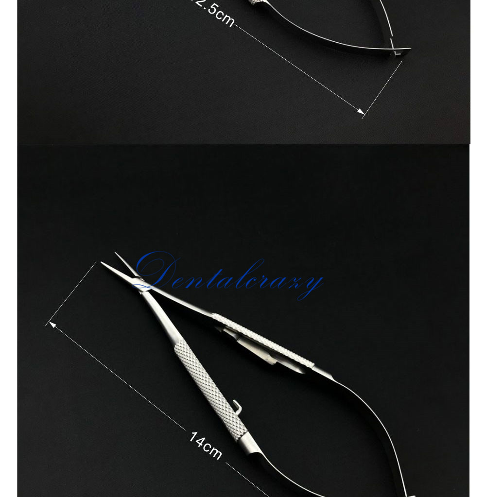 12.5-18cm com os suportes da agulha de