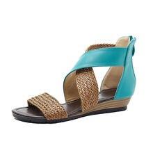 Летние сандалии в этническом стиле женские босоножки богемном