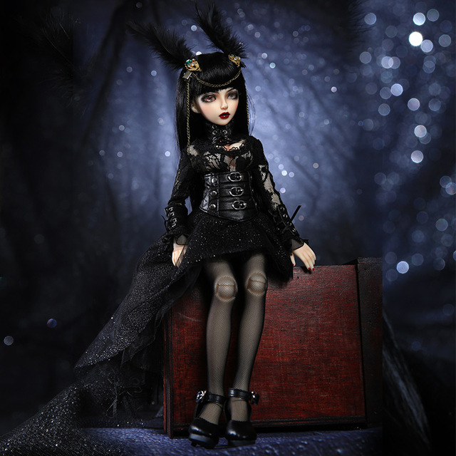 Free Shipping Minifee Celine BJD Dolls 1/4 Fashion Flexible Resin Figure Female Fairies Fullset Toy For Children Fairyland
