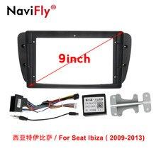 Navifly Autoradio accesorio Multimedia estéreo marco para asiento Ibiza 6j 2009-2013 GPS para coche de navegación de Marco