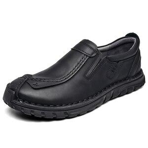 Image 4 - Мужские кожаные туфли в стиле ретро