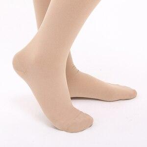 Image 4 - Medias de compresión para mujer y hombre, calcetín médico de 30 40mm Hg, con soporte Extra firme, Edema de venas varicosas, hinchazón