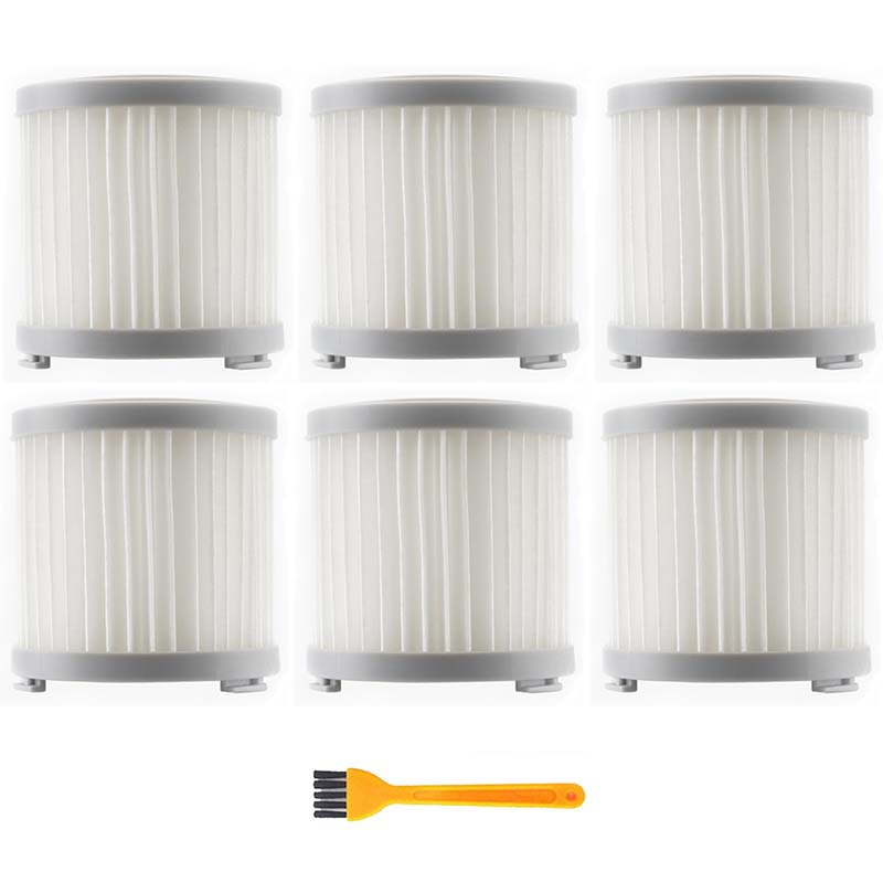 7Pcs HEPA Filter For JIMMY JV51/53 Handheld Cordless Vacuum Cleaner HEPA Filter Gray Replacement Filter