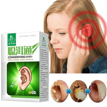 Earwax Remove Liquid Boric Acid Alcohol Ear Drops Medicine for Acute Otitis Itching Antibacterial Care Product image