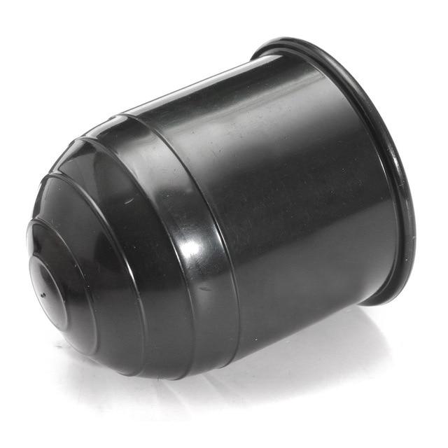 Universal 50MM Auto Tow Bar Ball Cover Cap Hitch Caravan Trailer Towball Protect Car Exterior Accessories
