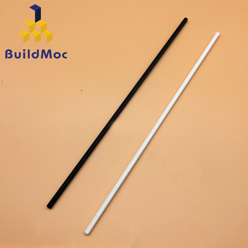 BuildMOC 50450 Technic Axle 32 For Building Blocks Parts DIY LOGO Educational Tech Parts Toys