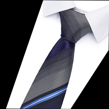 Mans Accessories Slim Tie for Men Jacquard Woven Solid 100% Silk 6cm Skinny Ties Wedding Business Necktie 20 Styles
