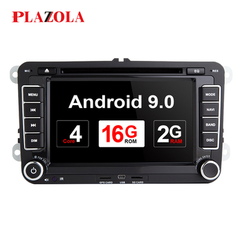 Autoradio 2 Din Android Car DVD player For VW/Volkswagen/Golf/Polo/Tiguan/Passat/b7/b6/SEAT/leon/Skoda/Octavia GPS Navi DAB DSP image