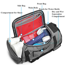 Laptop-Backpacks Sports-Bags Fitness Travel-Bag Hand Gym Multifunction Large-Capacity
