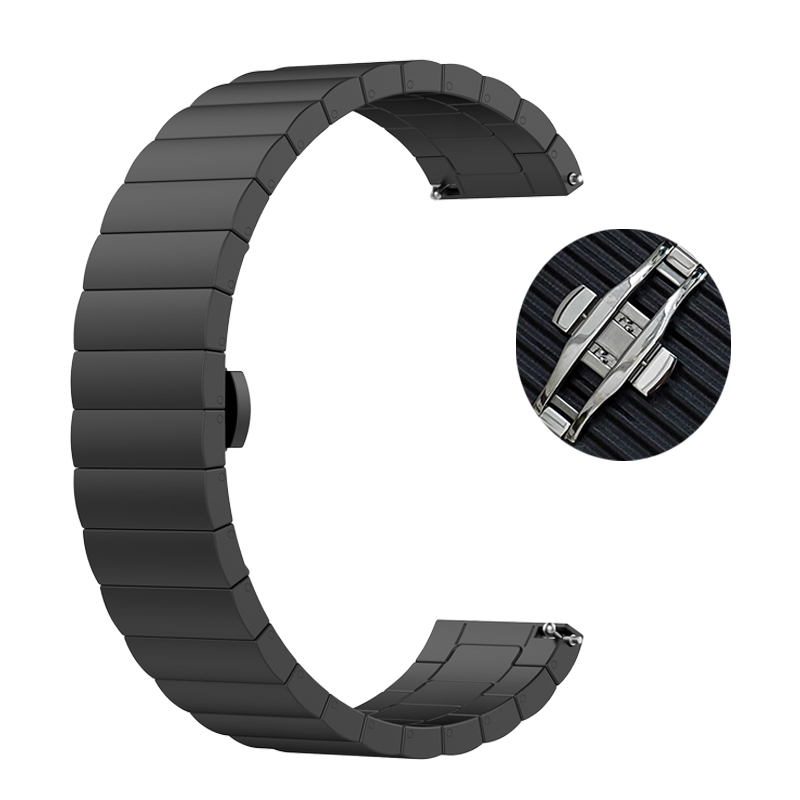 Metal Watchband For Huami Amazfit GTR 47mm Bracelet 22mm Stainless Steel Quick Fit Band For Amazfit Pace Stratos 3 2 2S Strap
